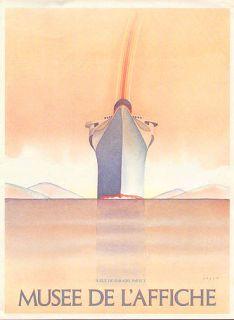 Jean Michel Folon Poster Print SHIP Musee de LAffice