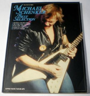 Michael Schenker Best Selection Japan Band Score Tab