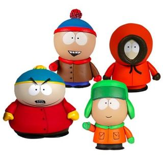 Mezco South Park Year of the Fan Cartman, Kenny, Stan, and Kyle Figure