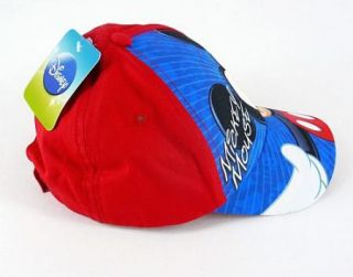 Disney Mickey Mouse Toddlers Baseball Hat Cap Adjustable