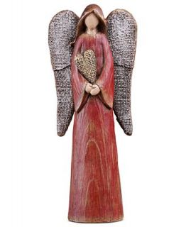 Napco Collectible Figurine, Angel with Red Heart