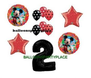 Mickey Mouse Second 2nd Birthday Balloons Party Supply Disney New