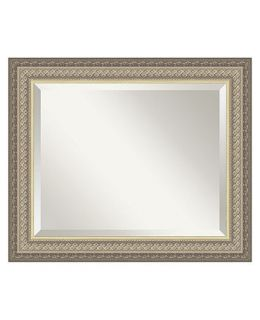 Amanti Art Paramount Silver Wall Mirror   Mirrors   for the home
