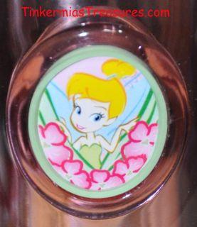 Disney Tinker Bell Flowers Pink Travel Mug Tinkerbell