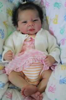 Reborn Baby Girl Doll Michelle by Evelina Wosnjuk Newborn
