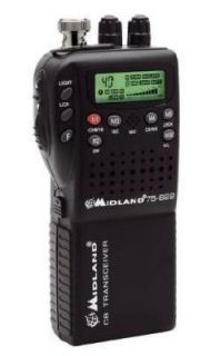 Midland 75 822 40 Channel Hand Held Micro CB Radio with Weather Alert