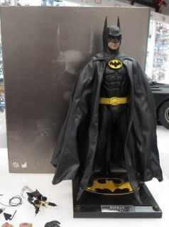 Hot Toys 1 6 DX 09 1989 Michael Keaton Batman New