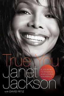 Janet Jackson Signed Book True You Michael 1st Print