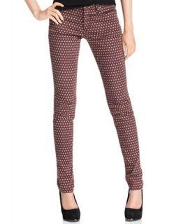 Else Jeans, Skinny Polka Dot Print