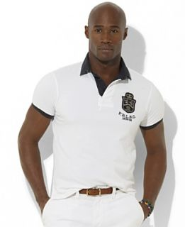 Polo Ralph Lauren Big and Tall Shirt, Classic Fit Short Sleeve Crest