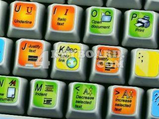 Microsoft Word Keyboard Stickers