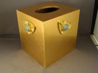 Mike Ally Jeweled Tissue Box Cover