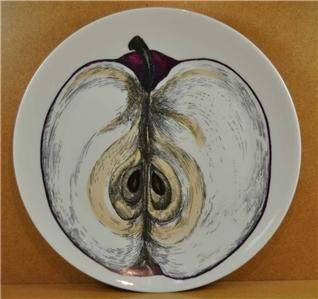 RARE Vintage Piero Fornasetti Milano Sezioni Di Frutta Fruit Plate