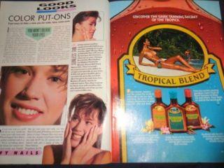 Vintage Teen Magazine YM 4 1987 Michael Jackson Clayton Rohner Fashion