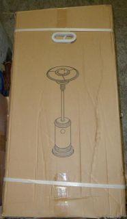 Garden Sun GS4400SS Floor Standing Propane Powered Patio Heater $200