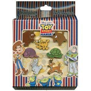 Toy Story Midway Mania Prizes Mini Pin Boxed Set 7 Pins Disney Pins