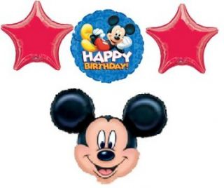 Mickey Mouse Balloons Birthday Party 4 Supplies Disney