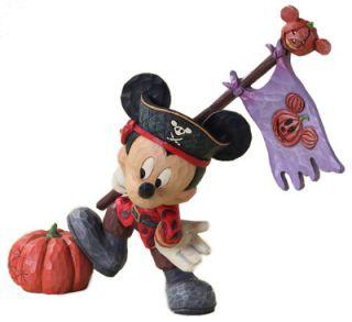 Disney Halloween Ahoy Matey Mickey Mouse Pirate Mickey Figurine