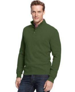 Tasso Elba Sweater, Fine Gauge Birdeye Sweater   Mens Sweaters