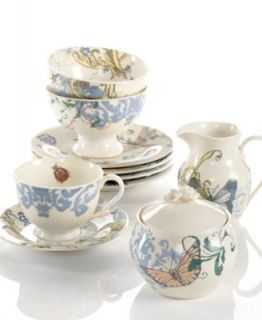 Lenox Dinnerware, Collage by Alice Drew Peony Collection   Casual