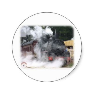 Zig Zag Railway Steam Locomotive 9J53D 17 Sticker