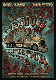 Furthur Weir Lesh Winter Grateful Dead Concert Poster Dubois