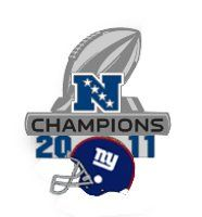New York Giants 2012 NFC Champs Going to Super Bowl XLVI Official