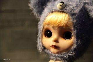 Taradolls Little Becky Custom Blythe Doll Art OOAK Licca Body EBL