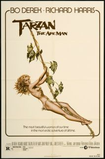 Tarzan The Ape Man 1981 Original U s One Sheet Movie Poster