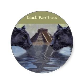 Black Panther Mexico Collection Sticker