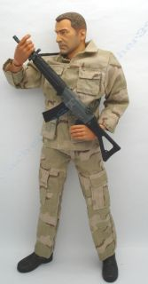 Action Figure Accessories  Desert Camo. Military Uniform #2