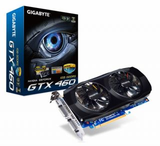 GeForce GTX460OC 1GB DDR5 2DVI Mini HDMI PCI Express Video Card