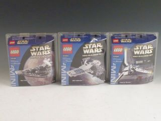 Lego Star Wars Mini Building Sets 4492 4493 4494 Star Destroyer Sith