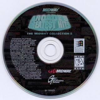 MIDWAY COLLECTION 2 +1 Clk XP Vista Windows 7 & 8 Install BURGER TIME