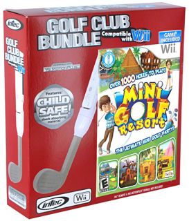 Nintendo Wii Golf Club Bundle Includes Mini Golf Reso