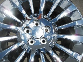 Factory Lincoln MKT Chrome Alloy Wheels Rims 2010 2012 Set of 4