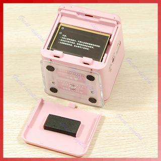 Mini Portable Audio System Speaker Box USB SD MMC