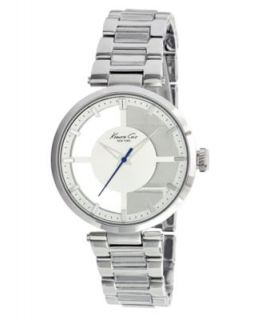 Kenneth Cole New York Watch, Womens White Leather Strap KC2609   All