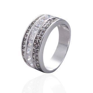 Brand Deluxe Mens 10KT Gold Filled Garnet Topaz Sapphire Gem Ring Size