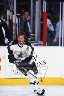 1994 Topps Hockey Slide Negative Mike Modano Dallas Stars
