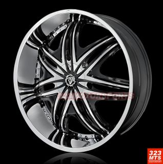 30 Diablo Morpheus Wheels H2 Escalade Yukon Rims Wheels Tires