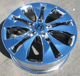 YOUR STOCK 2012 17 FACTORY HONDA CR V CHROME WHEELS RIMS ELEMENT CRV