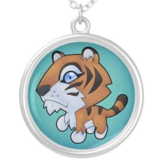 Cute Cartoon Tiger Jewelry