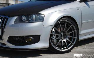 19x8 5 VMR 721 Gun Metal Wheel 5x112 Fit Audi A4 A5 A6 A8 S4 Allroad