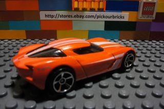 Hot Wheels Orange 2009 Corvette Stingray Concept Diecast HW Showroom