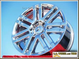 Mercedes Benz C300 17 Chrome Wheels Rims Set of 4