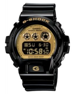 Shock Watch, Mens Digital Black Resin Strap GD100GB 1   All Watches