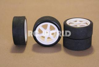 RC 1 10 Tamiya Car Tires Wheels Rims Package Toms Supra