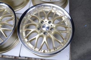 17 5x112 Rims Gold Mercedes Benz S430 S320 E500 GTI Rabbit Passat