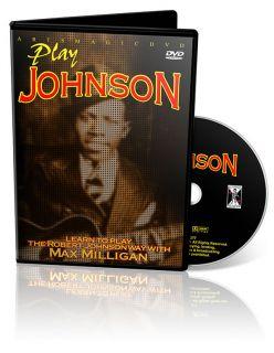 Robert Johnson Blues Guitar Instructional DVD with Max Milligan
